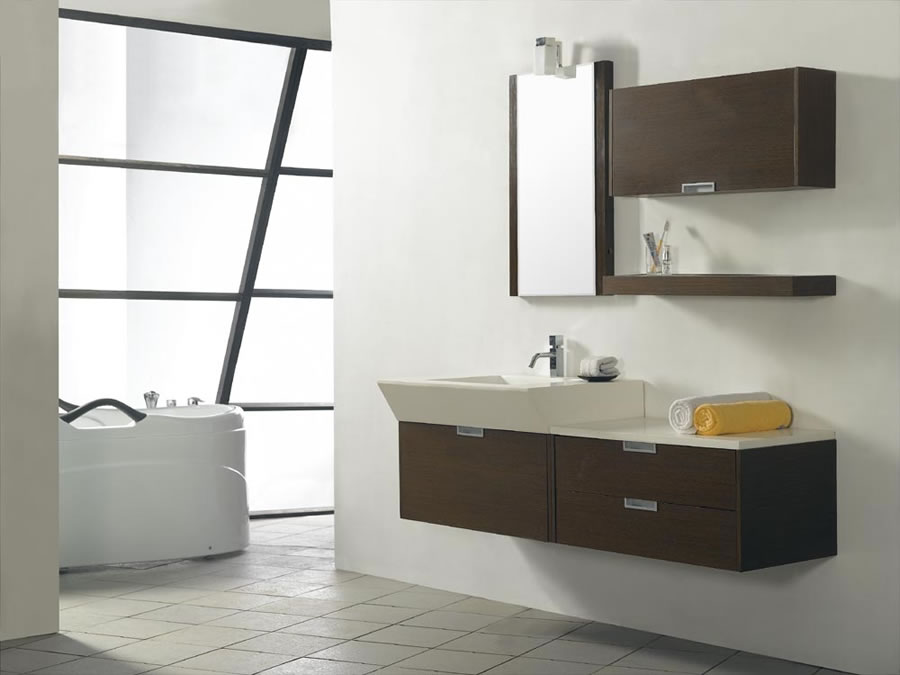Lovable Modern Contemporary Vanity Bathroom Modern Bathroom Sink Vanity On Bathroom In Great