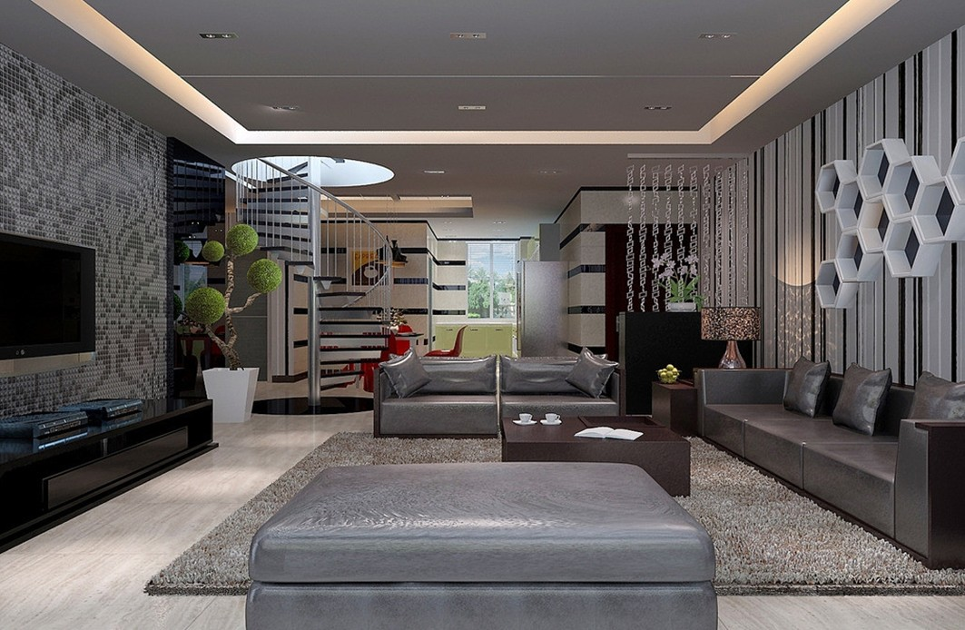 Lovable Modern Interior Design Ideas Living Room Download Living Room Modern Interior Design Dissland