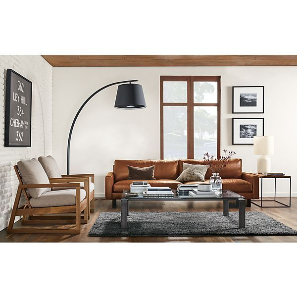 Lovable Modern Leather Living Room Lovely Room And Board Leather Sofa Best Images About Modern Sofas