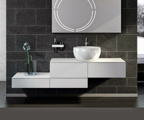 Lovable Modern Vanity Cabinets Bathroom Wall Mounted Bathroom Vanity Cabinets On Bathroom Inside