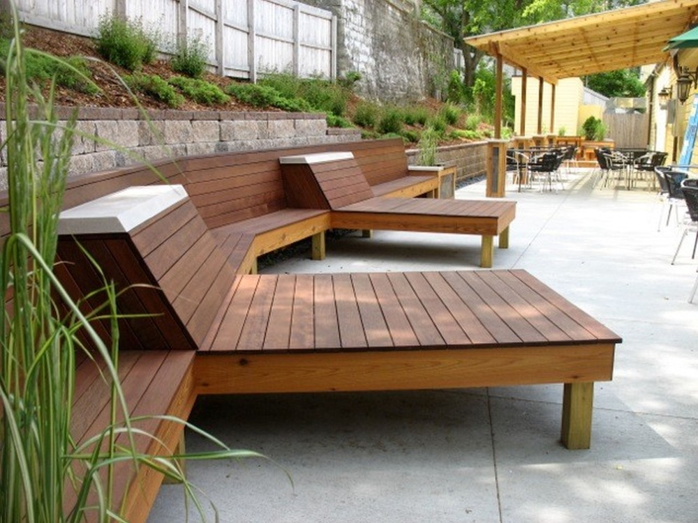 Lovable Modern Wood Patio Furniture Wooden Contemporary Patio Furniture Enjoyable Contemporary Patio