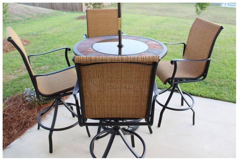 Lovable Outdoor High Top Table High Top Outdoor Patio Furniture