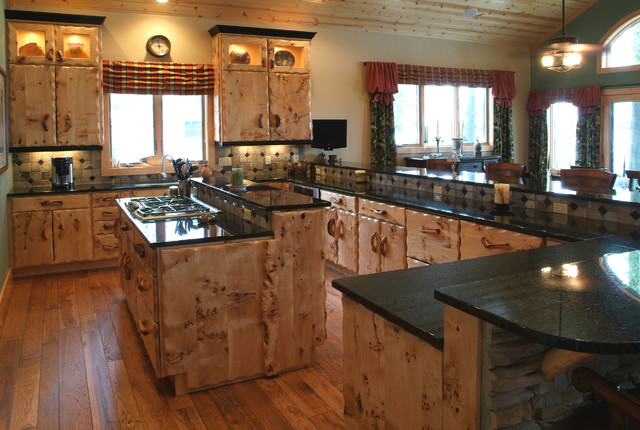 Lovable Rustic Kitchen Furniture Rustic Kitchen Rustic Kitchen Other Woodland Creek