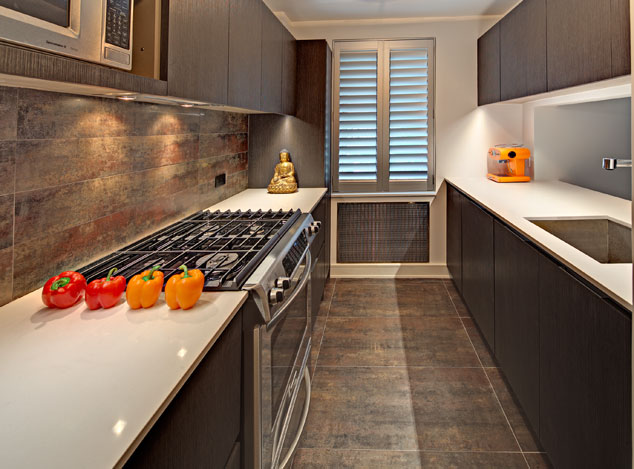 Lovable Small Luxury Kitchen A Small New York City Luxury Kitchen Remodel