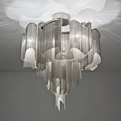Nice Beautiful Ceiling Lights Modern Beautiful Chain Veiled Flush Mount Ceiling Light