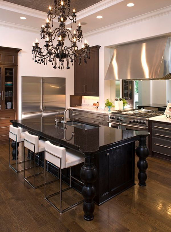 Nice Black Kitchen Chandelier Black Kitchen Chandelier Luxetdesign