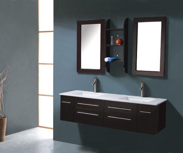 Nice Contemporary Bathroom Cabinets Milano Iv Modern Bathroom Vanity 59