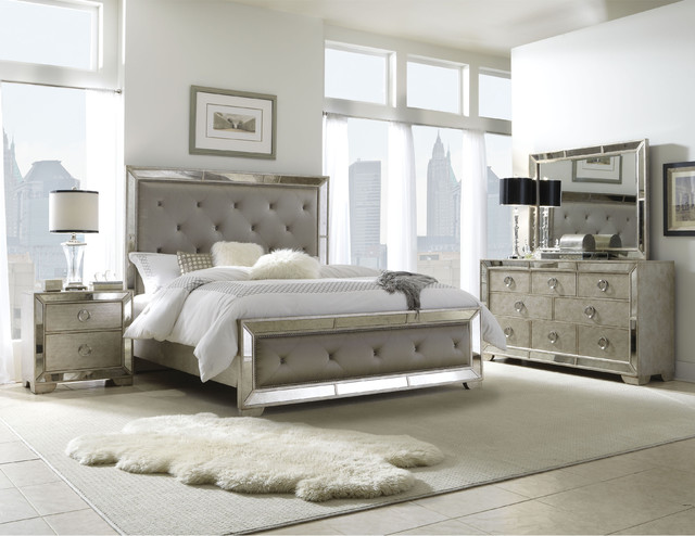... Nice Contemporary Bedroom Sets Bedroom Appealing And Upholstered Tufted  King Size Bedroom Set ...