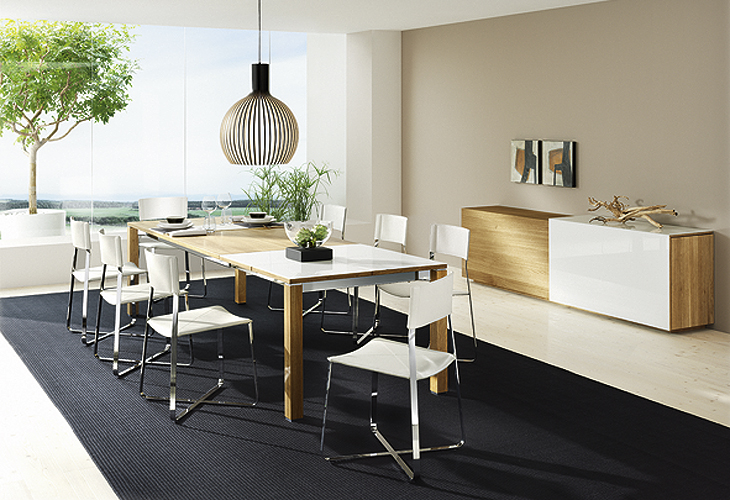 Nice Contemporary Dining Room Furniture Download Modern Furniture Dining Room Gen4congress Regarding