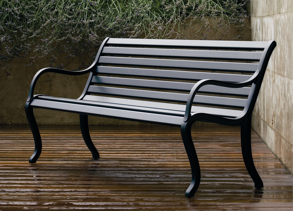 Nice Contemporary Garden Bench Oasi Garden Bench Modern Garden Furniture Garden Seating