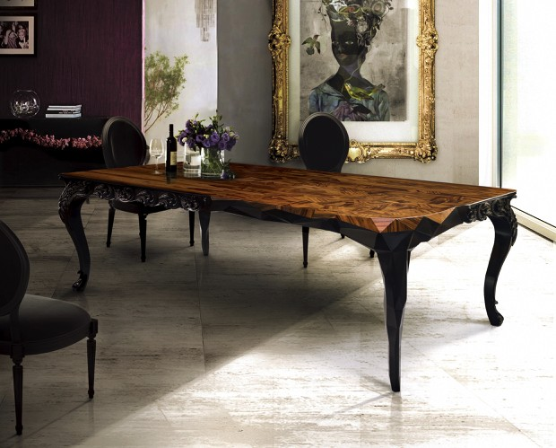 Nice Luxury Dining Tables Luxury Dining Room Ideas For Modern Home Interior Design On Dining
