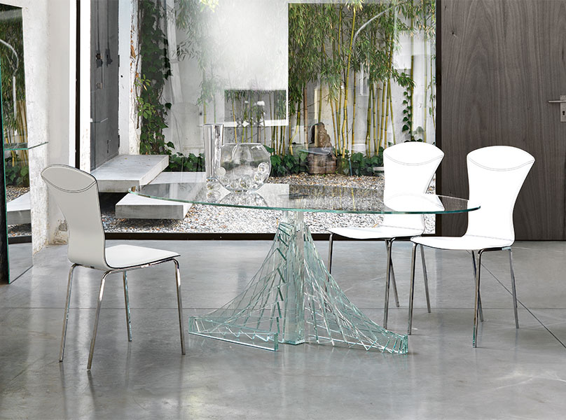 Nice Luxury Glass Dining Tables The Best Glass Dining Table For Your Dining Area Boshdesigns