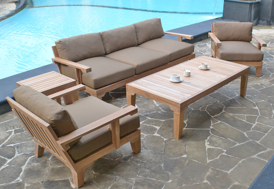 Nice Luxury Teak Patio Furniture Deep Seating Patio Chairs Luxury How To Make A Deep Seating