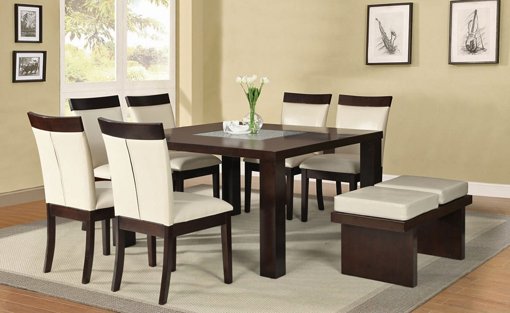 Nice Modern Dining Table Set Square Dining Table Set
