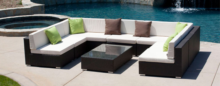 Nice Modern Metal Patio Furniture Wonderful Patio Outdoor Furniture Outdoor Decorating Pictures