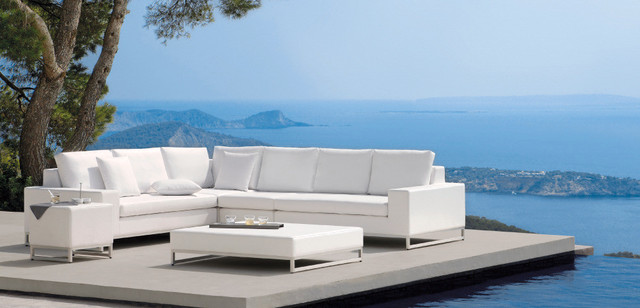 Nice Modern White Outdoor Furniture Outdoor Lux White Sofa Modern Patio Furniture And Outdoor