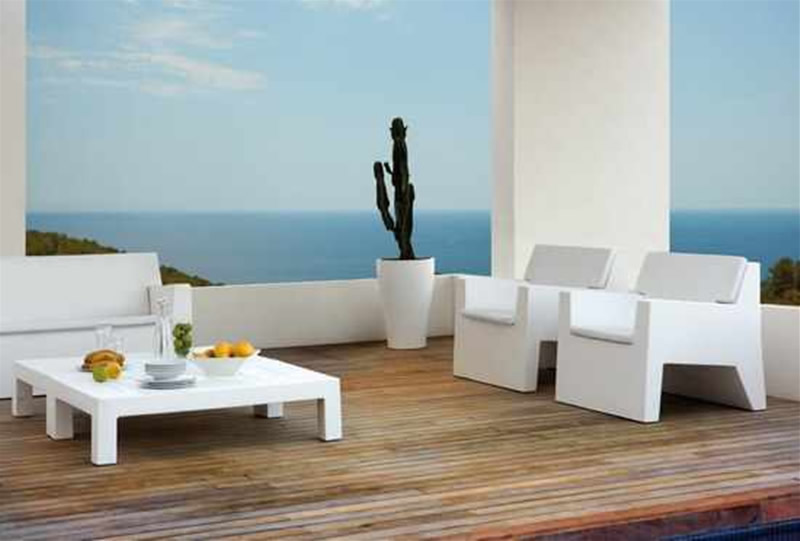 Nice White Modern Patio Furniture Modern Outdoor Furniture Design Ideas Jut Collection Vondom 5