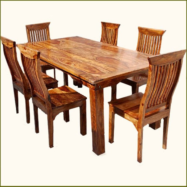 Nice Wooden Dining Table And Chairs All Wood Dining Room Chairs 3801