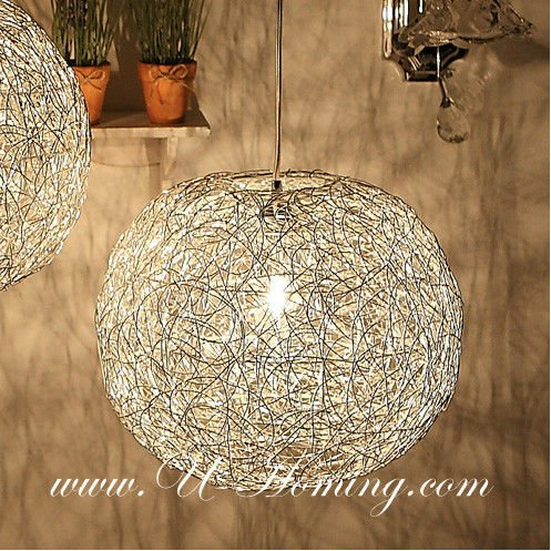 Stunning Ball Chandelier Light The Most Attractive Mesh Wire Ball Pendant Modern Lamp Modern