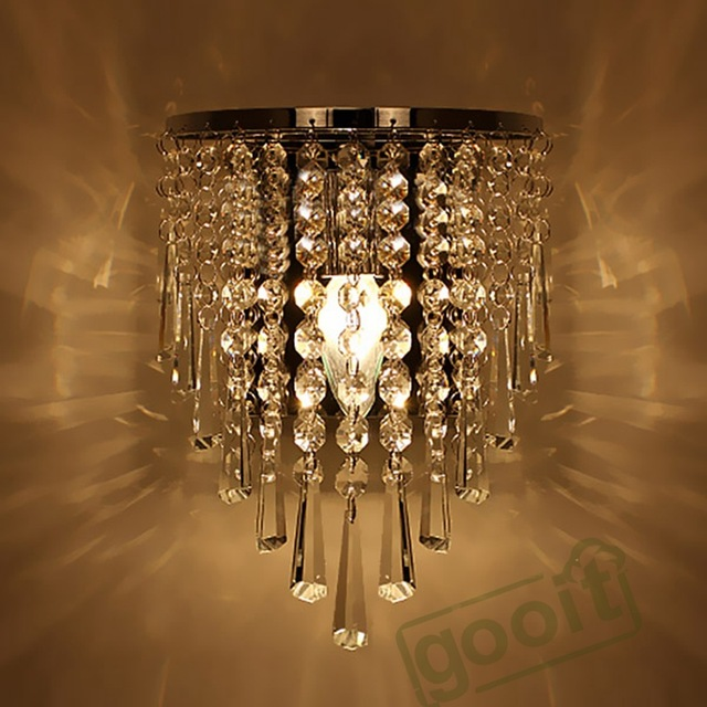 Stunning Chandelier Wall Lights Modern Crystal Chandelier Wall Light Lighting Fixture 220v E14 Led