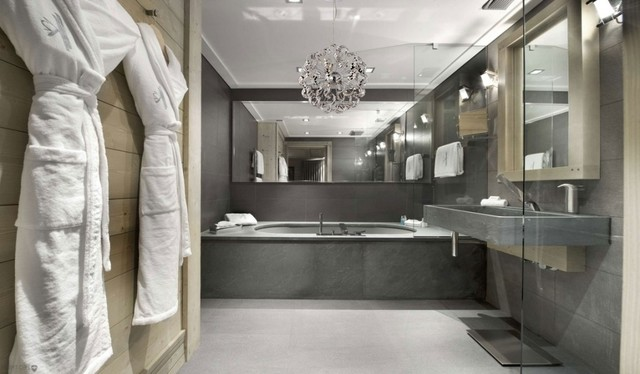Stunning Contemporary Bathroom Chandeliers Modern Contemporary Chrome Ribbon Crystal Pendant Chandelier