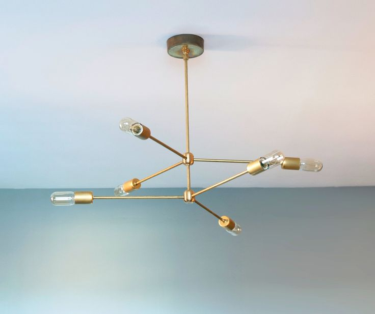 Stunning Contemporary Brass Chandelier Fabulous Modern Brass Chandelier 17 Best Images About Styles And