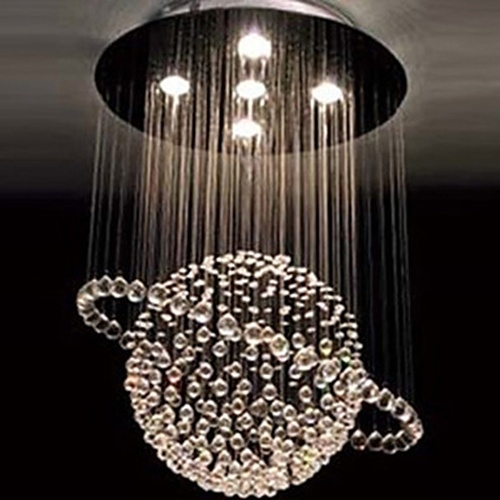 Stunning Crystal Chandelier Contemporary Design Contemporary Chandelier Lighting Good Furniture Intended For