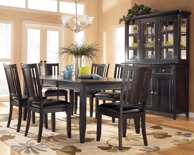 Stunning Dark Wood Dining Room Table And Chairs Terrific Dark Wood Dining Room Table And Chairs 44 For Rustic