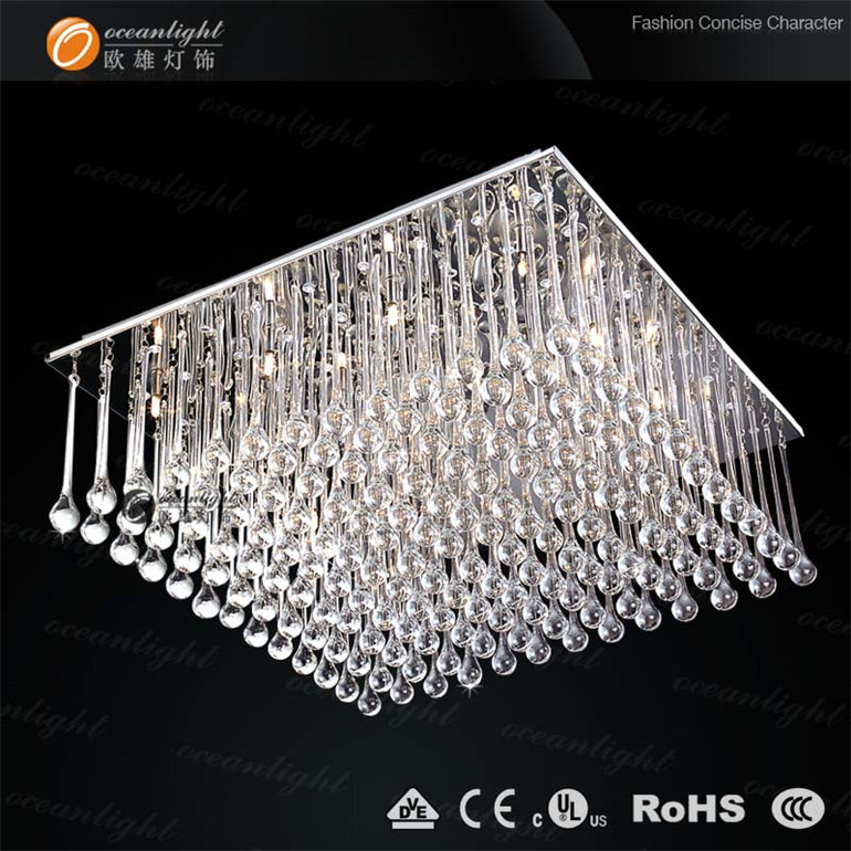 Stunning Fancy Led Ceiling Lights Square Candy Floss Shape Crystal Ceiling Lightluxury Ceiling