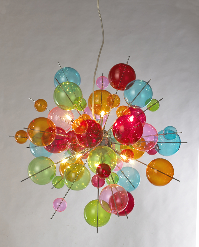 Stunning Funky Chandelier With Colored Glass Chandelier Astonishing Funky Chandelier Breathtaking Funky