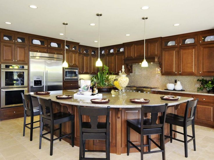 Stunning Large Kitchen Ideas Best 25 Large Kitchen Design Ideas On Pinterest Huge Kitchen