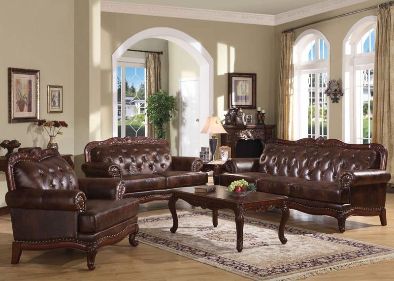 Stunning Leather Living Room Von Furniture Birmingham Formal Leather Living Room Set