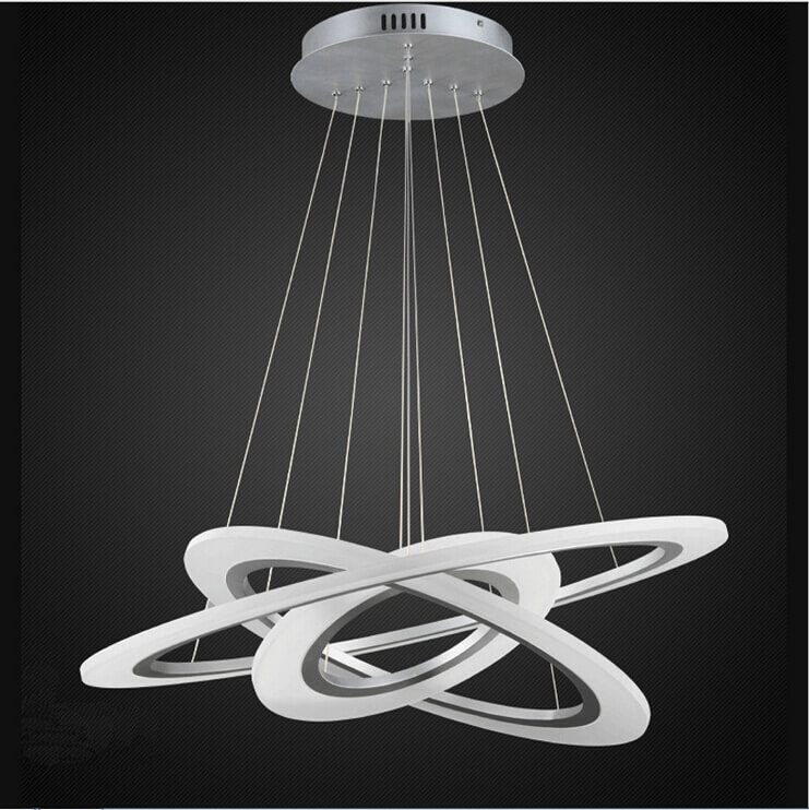 Stunning Led Chandelier Lights Rings Of Jupiter Modern Led Chandelier Modernplace Led Lighting