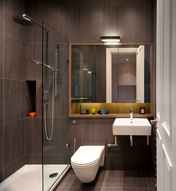 Stunning Luxury Apartment Bathrooms Luxury Apartment In Queens Gate Contemporary Bathroom