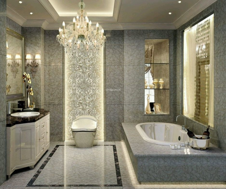 Stunning Luxury Bathroom Storage Cabinets Luxury Bathroom Design Ideas White Black Ceramic Bathtub Gray