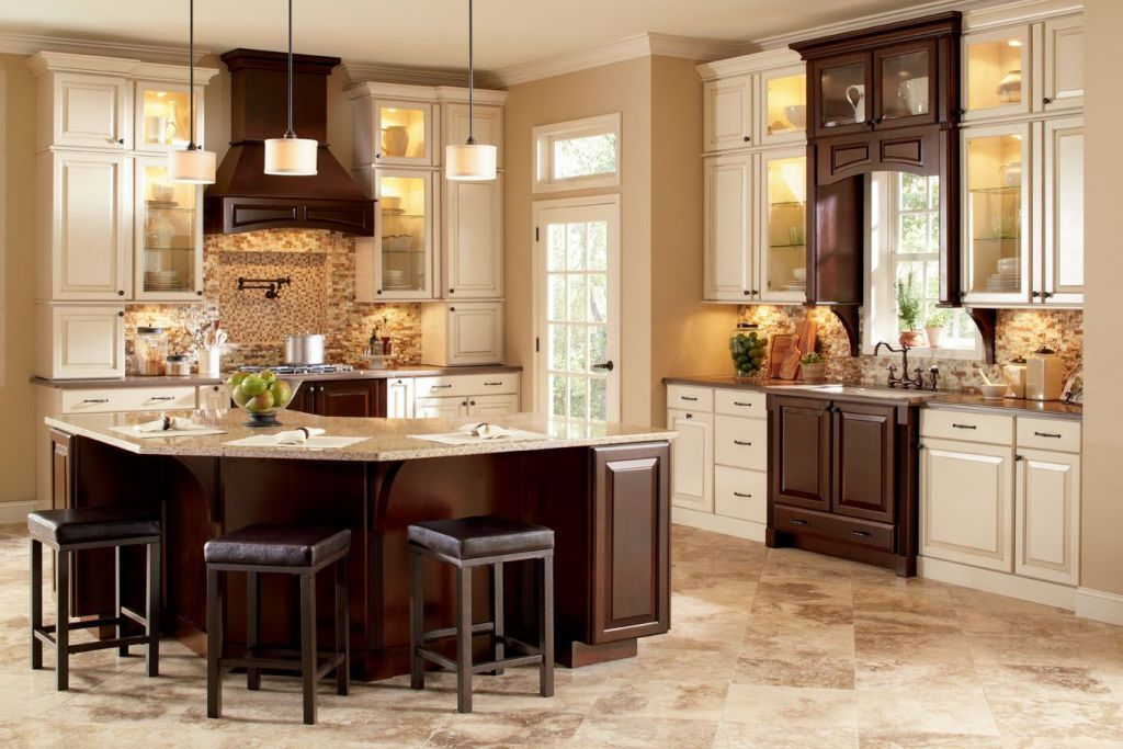 Stunning Luxury Kitchen Tiles Excellent Beige Floor Tiles With Luxury Kitchen Cabinet For