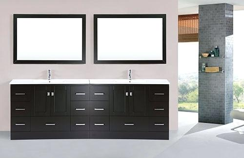Stunning Modern Bathroom Vanity Base 96 Bathroom Vanity Espresso Double Modern Bathroom Vanity With
