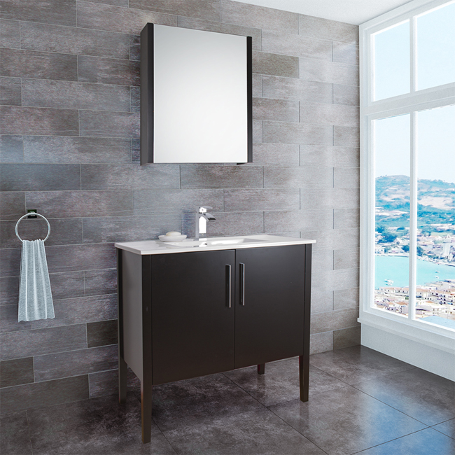 Stunning Modern Bathroom Vanity Base Vigo 36 Inch Maxine Modern Bathroom Vanity Espresso Black Matte Finish