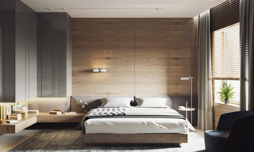 Stunning Modern Bedroom Wall Designs Bedroom Modern Wood Accent Bedroom Walls With Greenery Decor 18