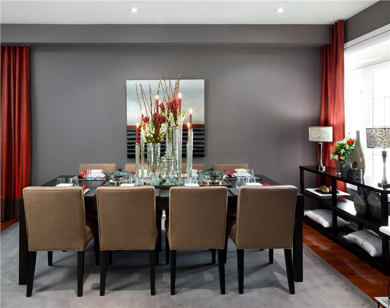 Stunning Modern Elegant Dining Room Contemporary Dining Room Jane Lockhart