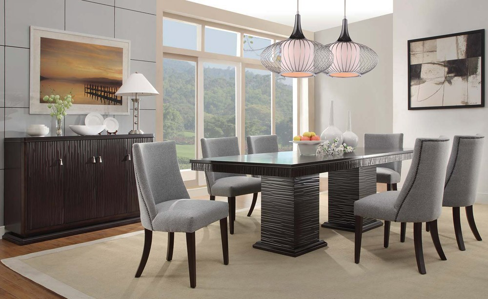 Stunning Modern Formal Dining Room Sets Modern Glass Dining Room Sets Cabinets Beds Sofas And