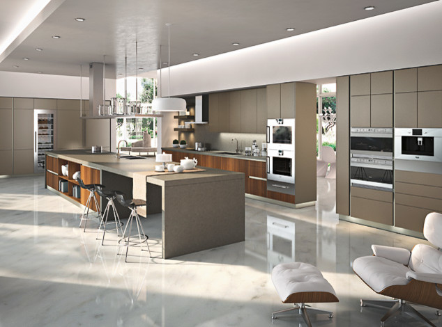 Stunning Modern Kitchen Cabinets Los Angeles Way Snaidero Design Modern Kitchen Los Angeles