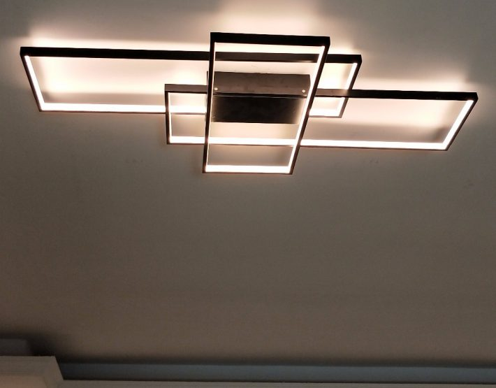 Stunning Modern Led Lighting Blocks Ceiling Mount Ultra Modern Light Fixture Modernplace