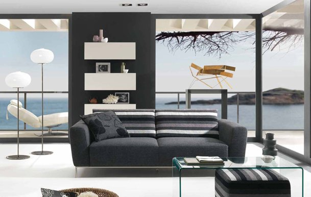 Stunning Modern Living Room Sofa Living Room Furniture Contemporary Design Gorgeous Decor Modern
