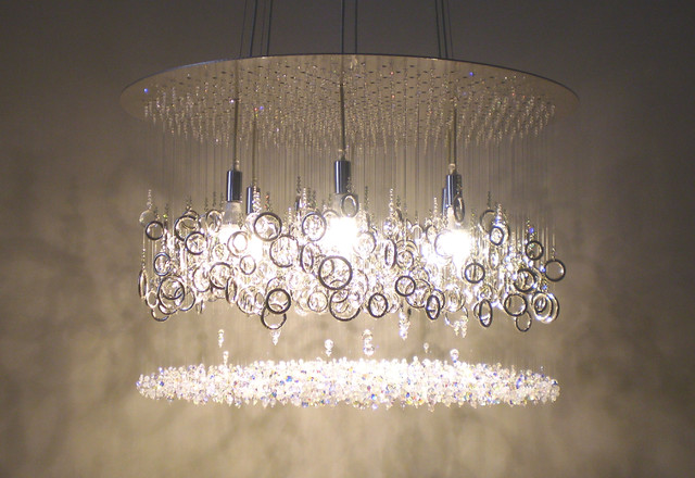 Stunning Nickel Chandeliers Lighting Fixtures Modern Lighting Extraordinary Modern Chandelier Lighting Design