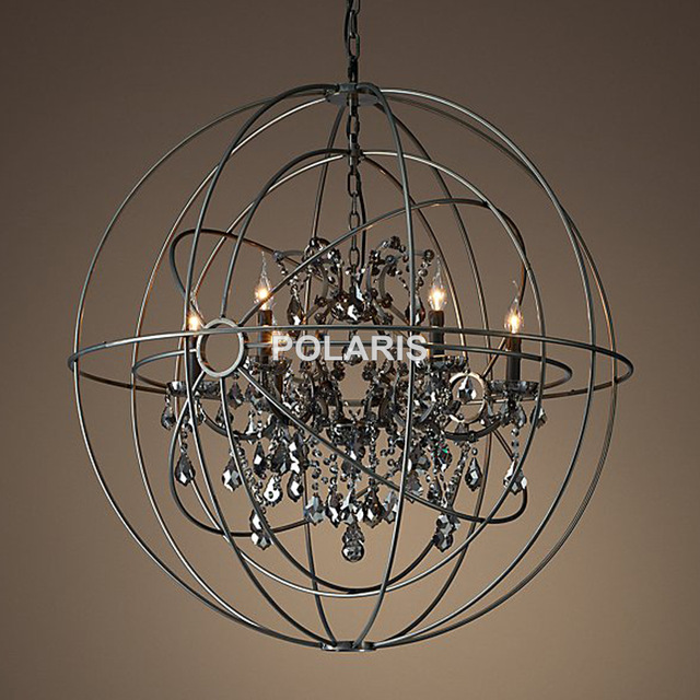 Stunning Orb Crystal Chandelier Free Shipping Vintage Orb Crystal Chandelier Lighting Rh Black