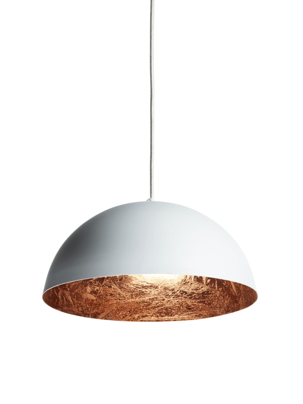 Stunning Pendant Ceiling Lights White Copper Pendant Light