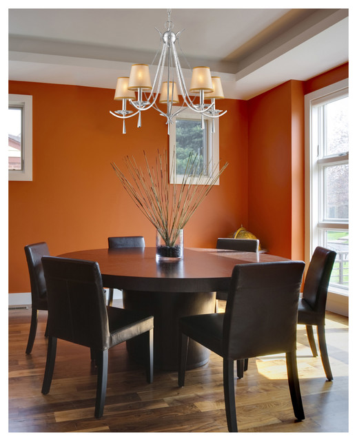 Stunning Silver Dining Room Chandelier Elk Lighting 140825 Clarendon Silver 5 Light Chandelier