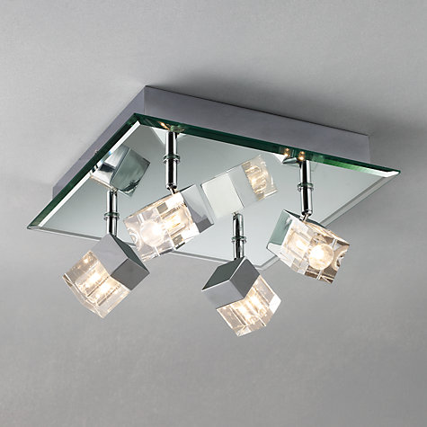 Stylish 4 Light Ceiling Light John Lewis Cornell 4 Light Bathroom Ceiling Plate Contemporary