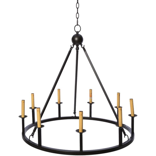 Stylish 9 Light Chandelier Old World 9 Light Chandelier Free Shipping Today Overstock